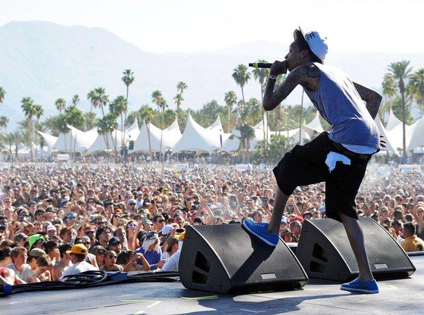 Wiz Khalifa Coachella Valley Music & Arts Festival
