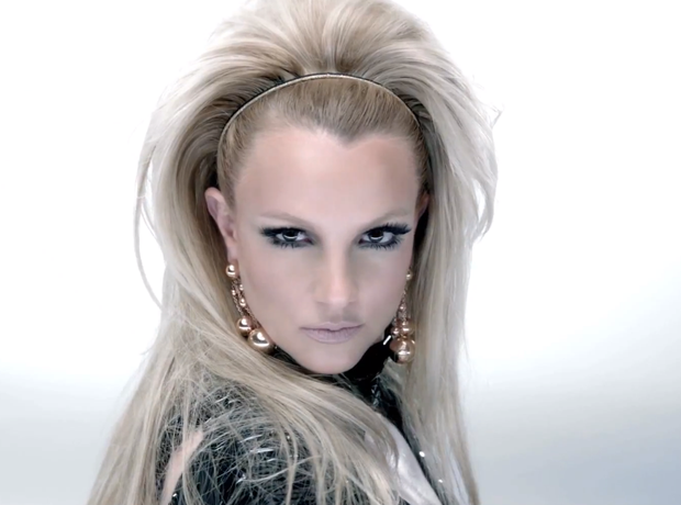 Britney spears in scream and shout video