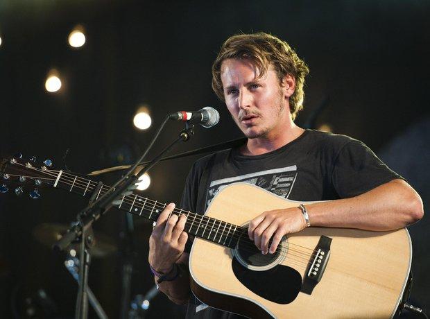 Ben Howard performs at Bestival 2012.