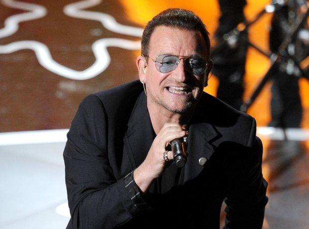 U2 at the Oscars 2014 live