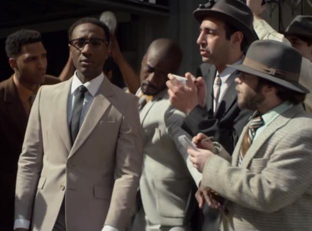 Aloe Blacc in 'The Man' music video