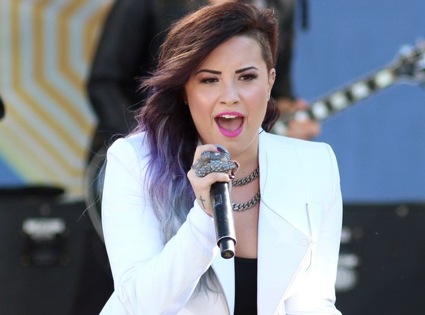 "Demi Lovato performs on ABC's ""Good Morning Americ"