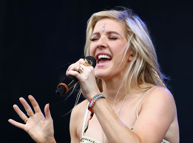 Ellie Goulding Wireless Festival 2014