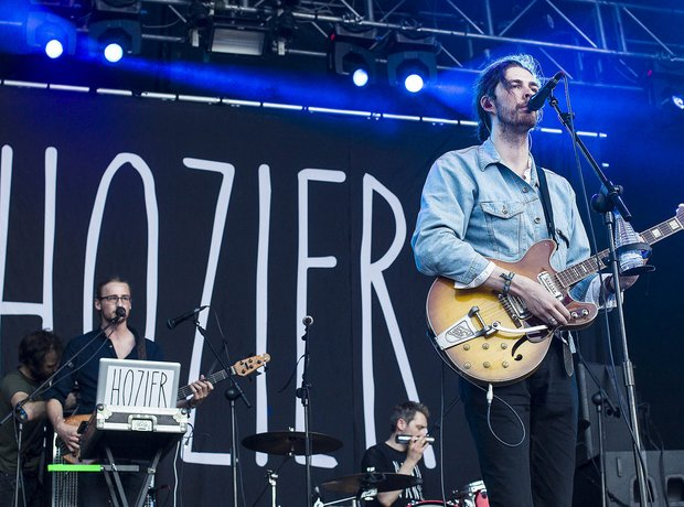 Hozier at Benicassim 2014
