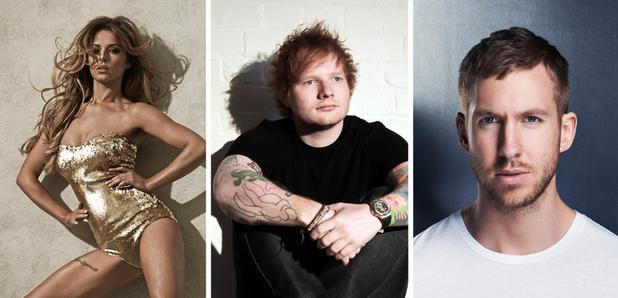 No.1 Contenders Big Top 40 Sheeran Cheryl Harris