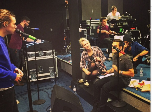 One Direction Rehearsals