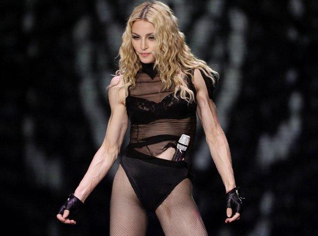 Madonna at Wembley Stadium