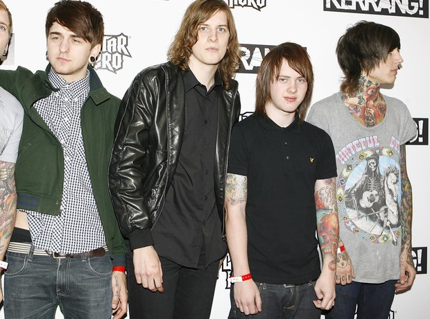 Bring Me The Horizon Kerrang Red Carpet