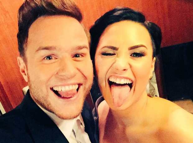 Olly Murs and Demi Lovato