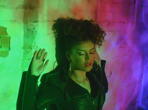 Karen Harding Say Something Video