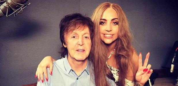 Paul McCartney and Lady Gaga
