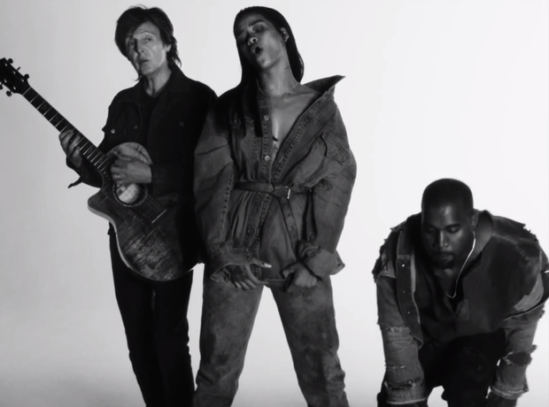 Rihanna FourFiveSeconds Video
