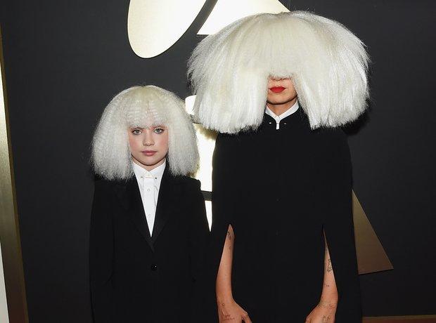 Sia and Maddie Ziegler Grammy Awards 2015