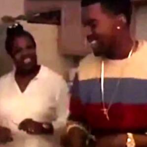 Kanye West and mum Donda video