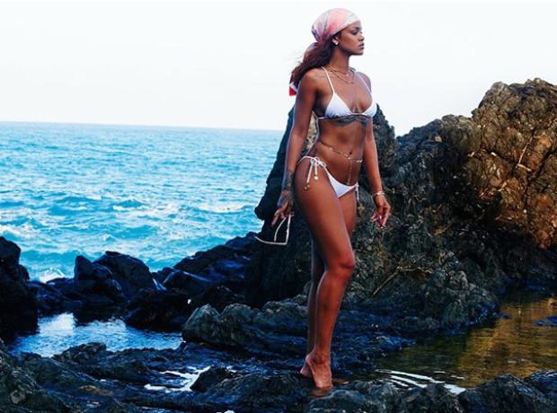 Rihanna Bikini Beach