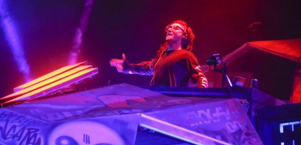 Skrillex Coachella 2015