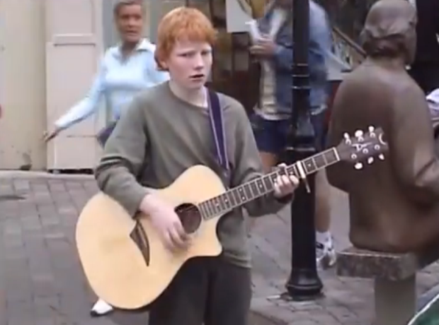 Ed Sheeran 'Photograph' music video stills
