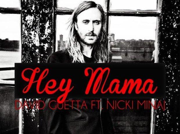 David Guetta Hey Mama Single Artwork