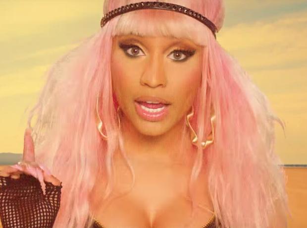 Nicki Minaj David Guetta 'Hey Mama' Music Video