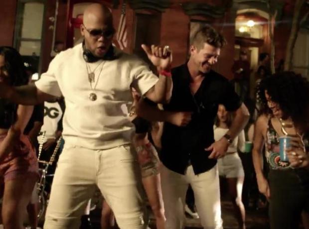 Flo RIda I Dont Like It Music Video