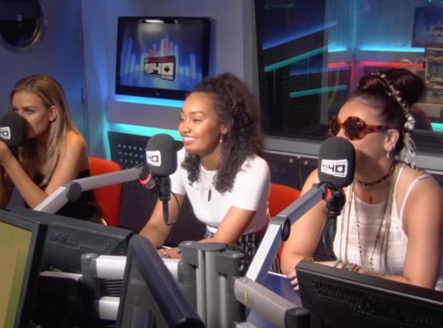 Little Mix Web Chat Big Top 40