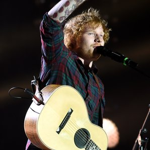 Ed Sheeran live at Fusion Festival 2015