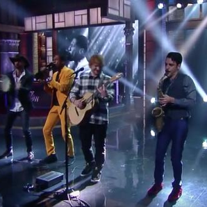 Ed Sheeran Late Show