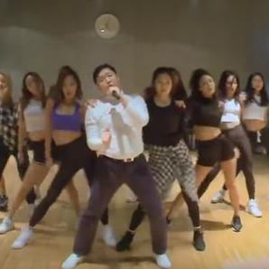 PSY Daddy Dance Rehearsal