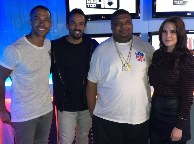 Craig David Big Narstie Marvin Humes Kat Shoob