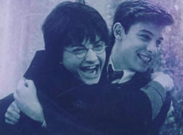 Shawn Mendes Harry Potter Instagram