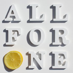 The Stone Roses - All For One artwork