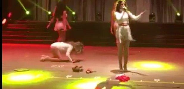 Ally Brooke Fifth Harmony Fall