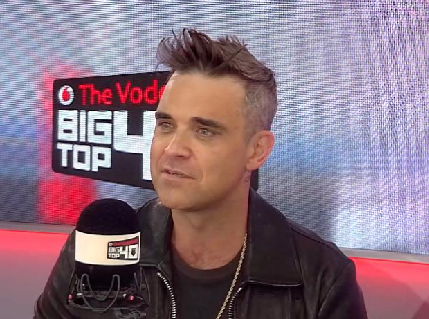 Robbie Williams Big Top 40 Studio