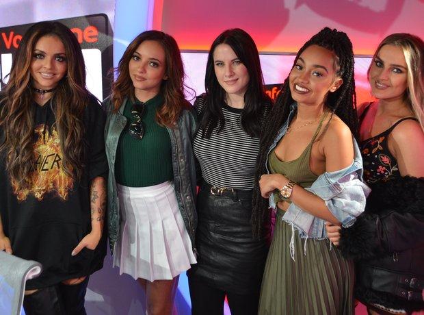 Little Mix Kat Shoob Vodafone Big Top 40
