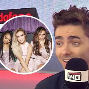 Little Mix Nathan Sykes Interview