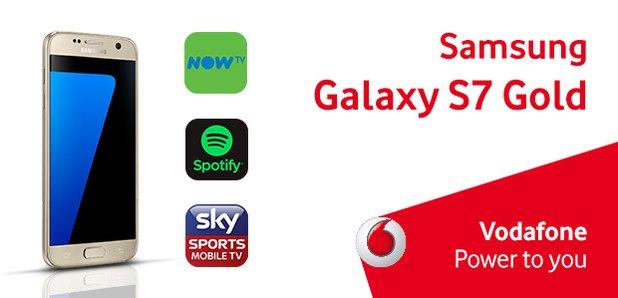 Vodafone Samsung Gold