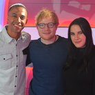 Ed Sheeran Big Top 40 Studio Marvin Kat