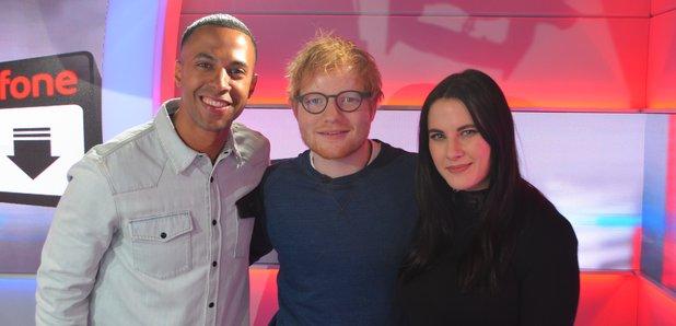 Ed Sheeran Big Top 40 Studio Marvin Kat