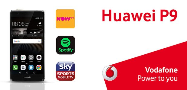 Huawei P9 Vodafone Competition