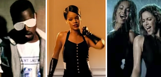 Rihanna Kanye West Beyonce YouTube throwback