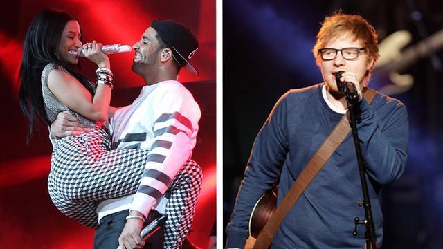 Livestream Nicki Minaj And Ed Sheeran Performing At Philly