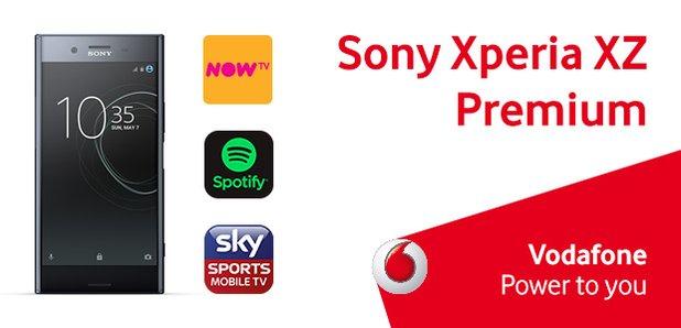 Vodafone Sony Xperia XZ Competition