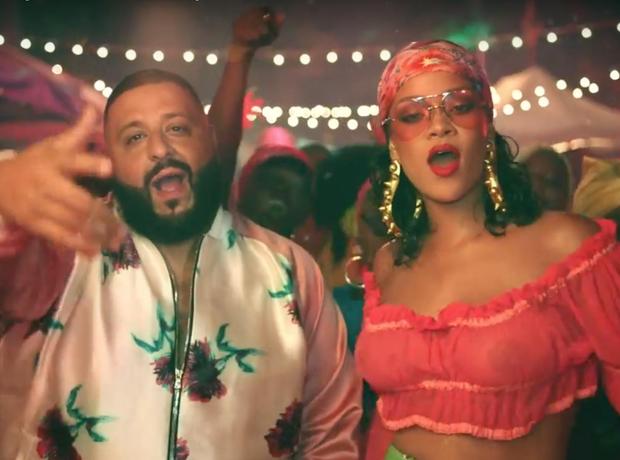 DJ Khaled Rihanna