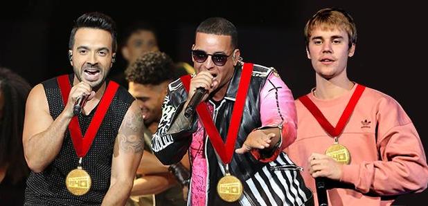 Luis Fonsi, Daddy Yankee & Justin Bieber