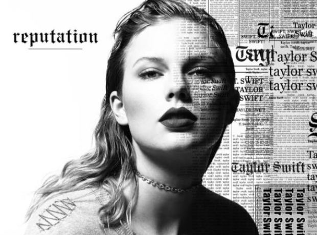 Taylor Swift Reputation Album Cover