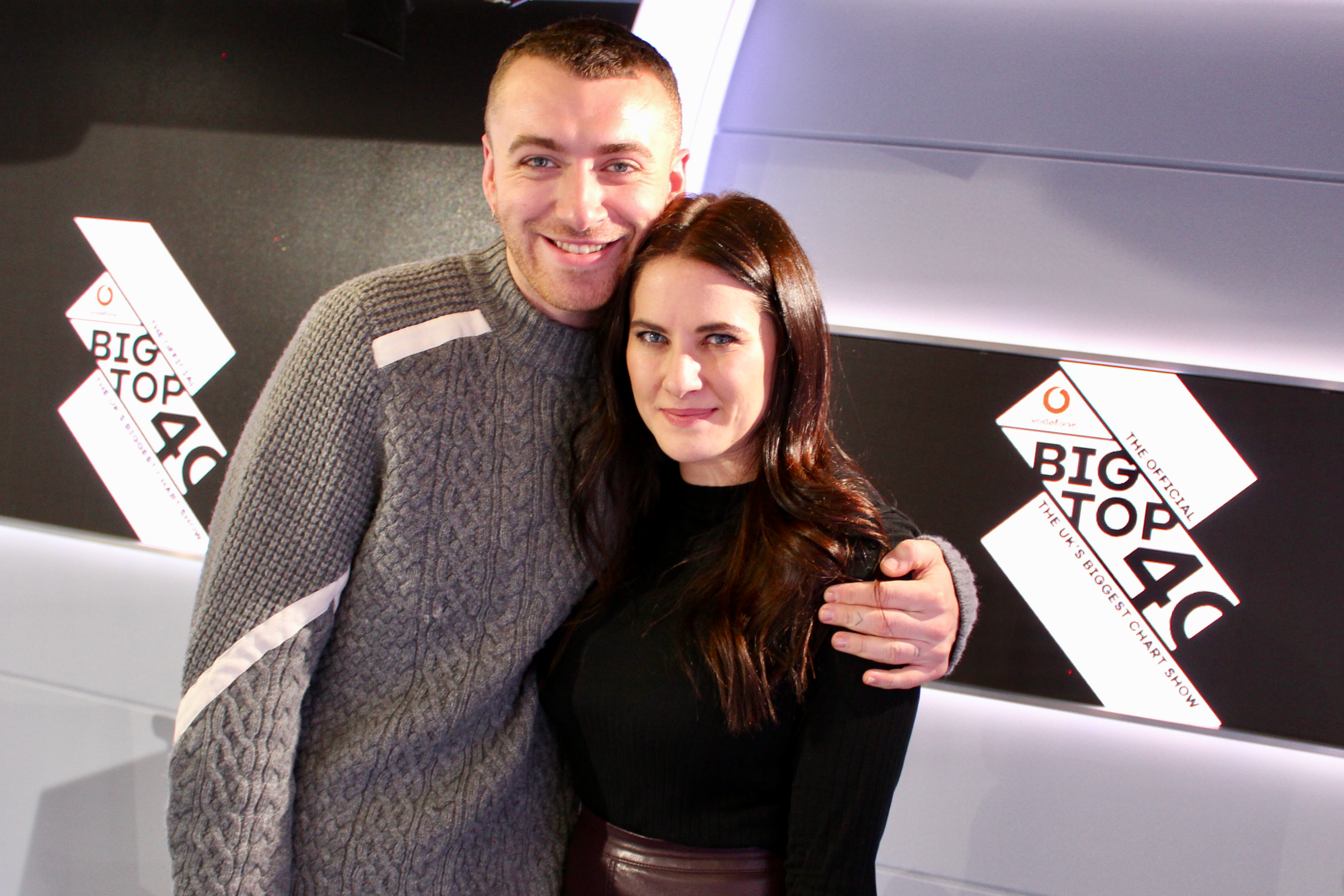 Sam Smith w/ Kat Shoob on Big Top 40