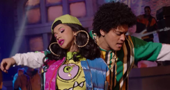 Cardi B Bruno Mars Finesse Remix Music Video