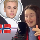 Sigrid Singing Justin Bieber on BT40