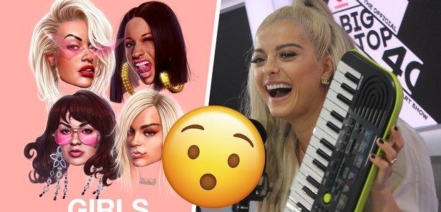 Bebe Rexha reveals Rita Ora's Girls collab