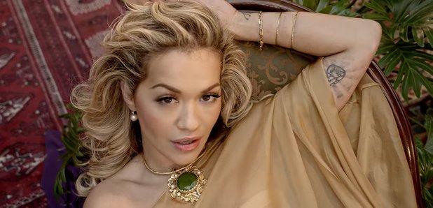 Rita Ora and Cardi B kiss in Girls music video wit
